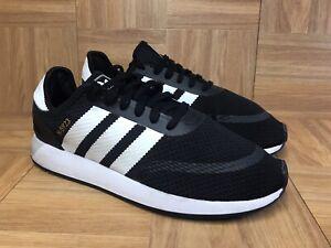 RARE-Adidas-Originals-N-5923-Iniki-Runner-Black-White-Classic-Sz-11-Men-039-s-Shoe