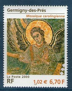 TIMBRE-3358-NEUF-XX-LUXE-ANGE-DE-GERMIGNY-DES-PRES-MOSAIQUE