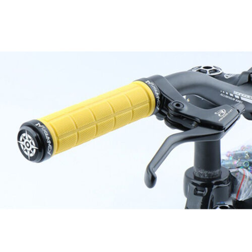 Bike Grips with Lock On Clamps Rubber Non-slip Comfortable Shockproof Bicycle