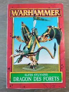 Elfes Sylvains Dragon Des Forets Warhammer Battle Aos Neuf 1998 Ouvert Wood Elf