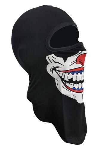 INTEGRALE Clowns MASCHERINA// MOTO// MOTOCICLISTA// sci //Paintball//BANDANA//