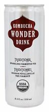 Kombucha Wonder Drink - Traditional Sparkling Fermented Tea Traditional - 8.4