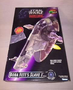 Boxed-Loose-100-Complete-1996-Kenner-Star-Wars-Shadows-of-the-Empire-SLAVE-I