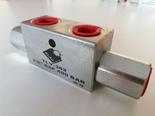 Hydraulik Sperrventil Sperrblock entsperrbares Rückschlagventil Hochdruck NEU