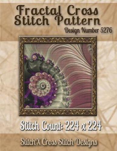Fractal Cross Stitch Pattern, Paperback by Warrington, Tracy
