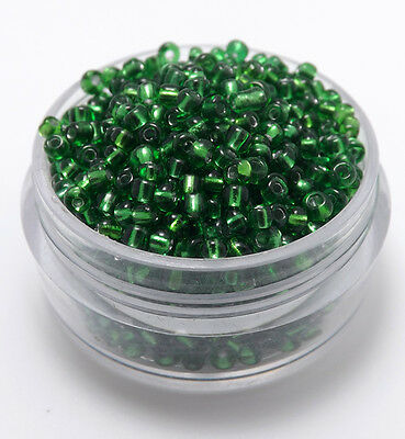 Czech  22g 2/3/4mm Round Lot Colorful Glass Seed Beads DIY Jewelry Making New
