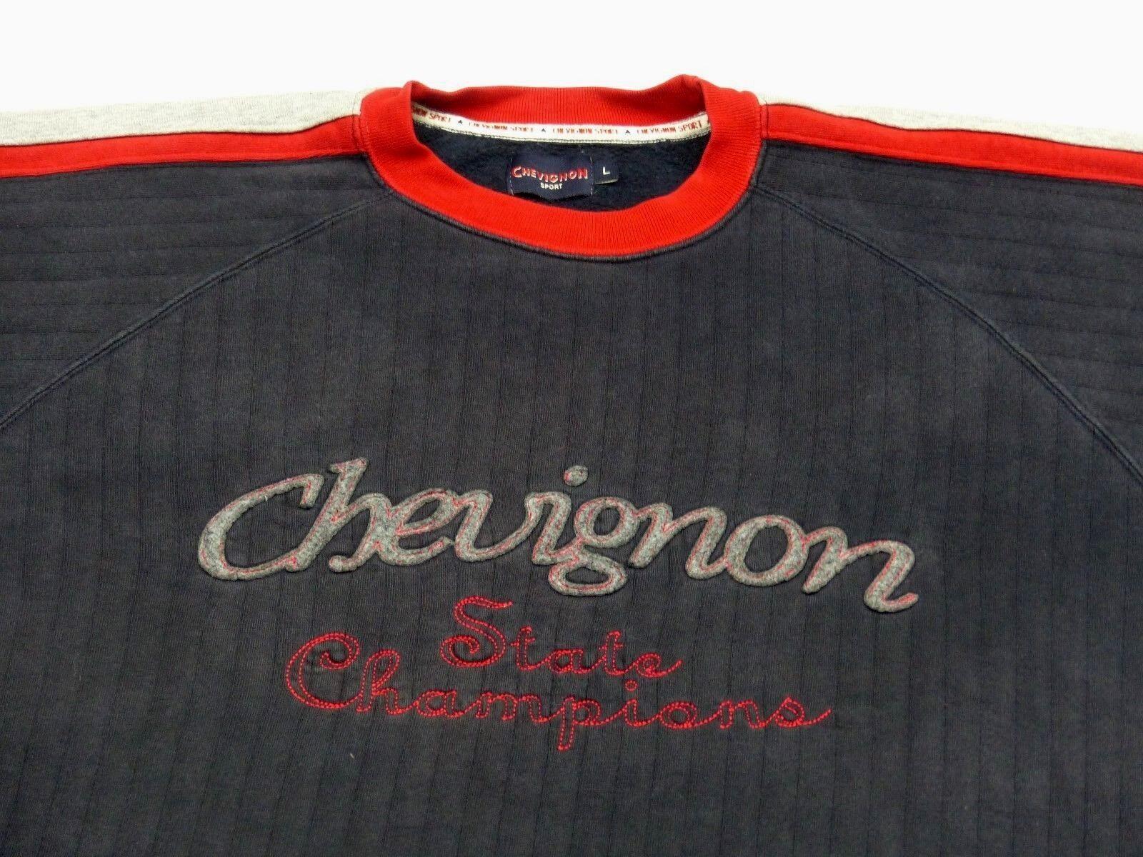 CHARLES CHEVIGNON VINTAGE PULLOVERSTATE CHAMPIONHOOLIGANSGR: LTIP TOP