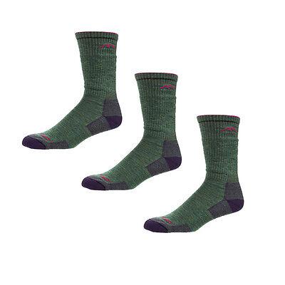 L M DARN TOUGH 1907 PLUM HEATHER Hiker Boot Sock Cushion Womens Merino Wool S