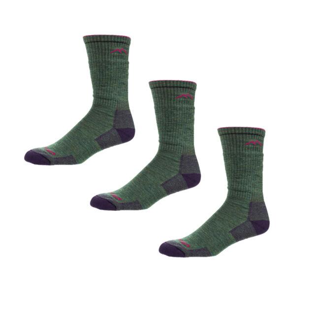 4882d0a72e4a4 Darn Tough Women's Merino Wool Boot Sock Cushion - Moss Heather - Large - 3  Pack