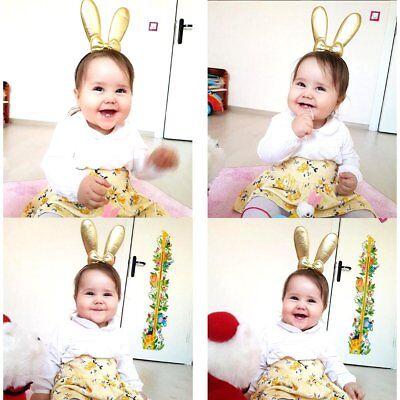 Cute Girls Baby Toddler Kids Rabbit Ear Headband Headwear Hair Band Accessories