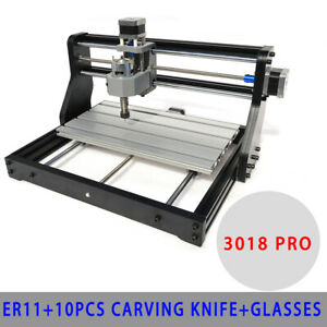 3018 CNC DIY Engraving Router/&500MW Laser Module 3D Wood Milling Cutting Machine