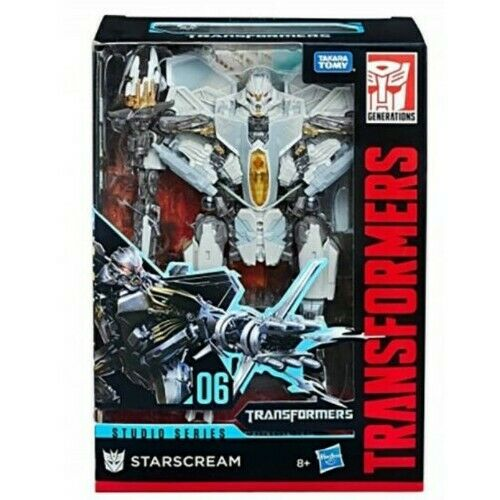 TRANSFORMERS Studio Series STARSCREAM HASBRO figurines Hasbro 06