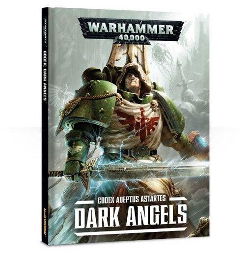 CODEX Dark Angels WARHAMMER 40K 40000 GW Italiano