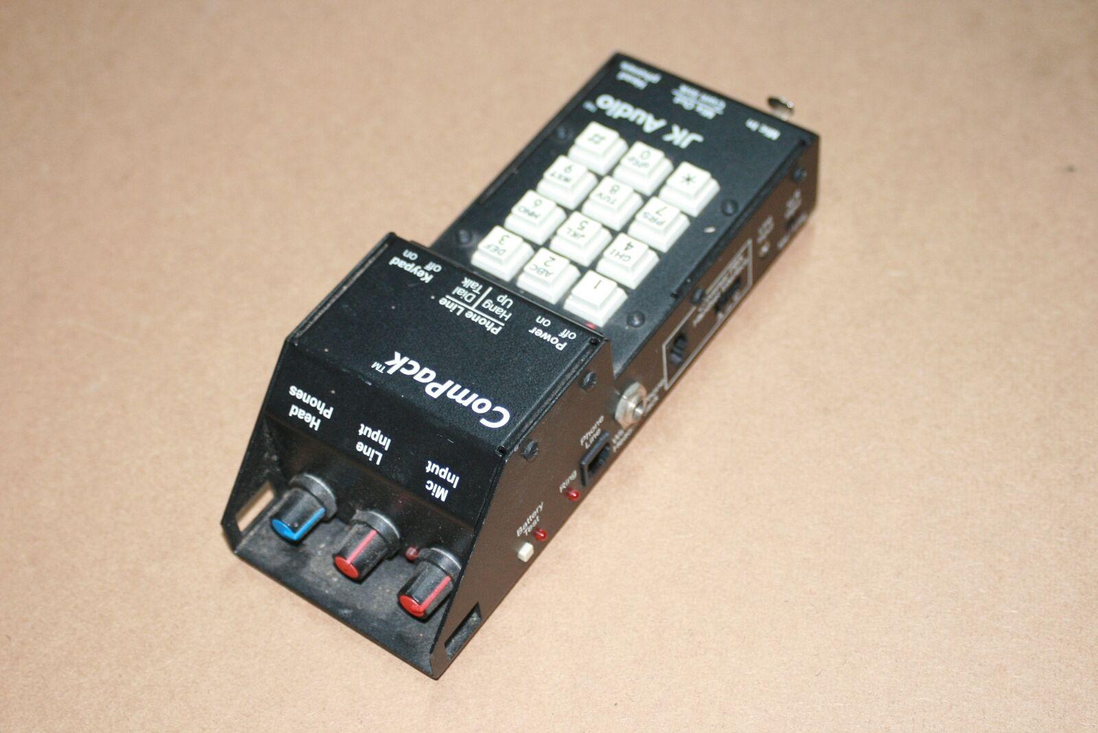 JK Audio ComPack Universal Telefon Audio Interface IFB Field Mixer