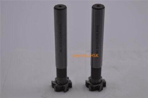 1pc 22×6×12×90 T-type milling cutter 22mm×6mm 6Flute End Mill Cutter CNC HSSAL