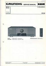 Grundig Service Anleitung Manual R 210  B538