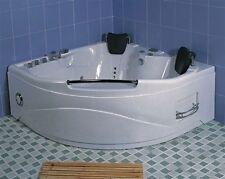 VASCA IDROMASSAGGIO 150x150 con Airpool Whirlpool 21 GETTI Cromoterapia 2 posti