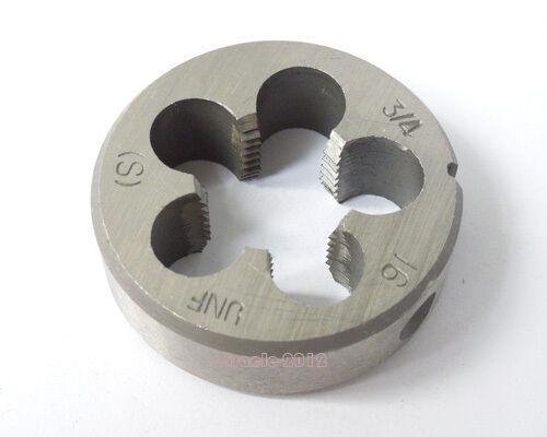1 pcs American Standard Right Hand Die 3//4-16 UNF Threading Die Tools