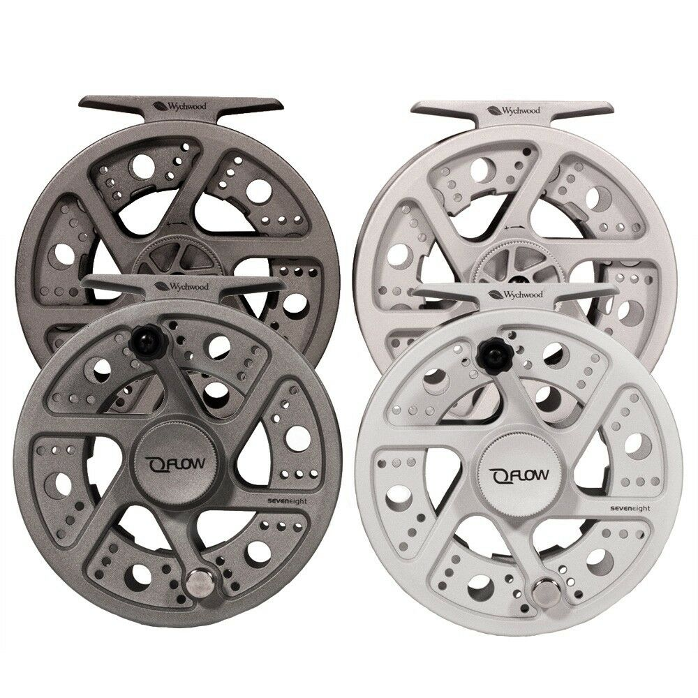 Wychwood NEW Flow Lightweight Mid-Arbour Design Fly Fishing Reel - Free P+P