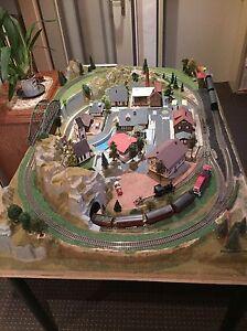 Fleischmann Rocco HO Eisenbahn Komplettanlage - Beerfelden, Deutschland - Fleischmann Rocco HO Eisenbahn Komplettanlage - Beerfelden, Deutschland