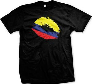 Colombian Flag Colombian Pride Men/'s T-shirt