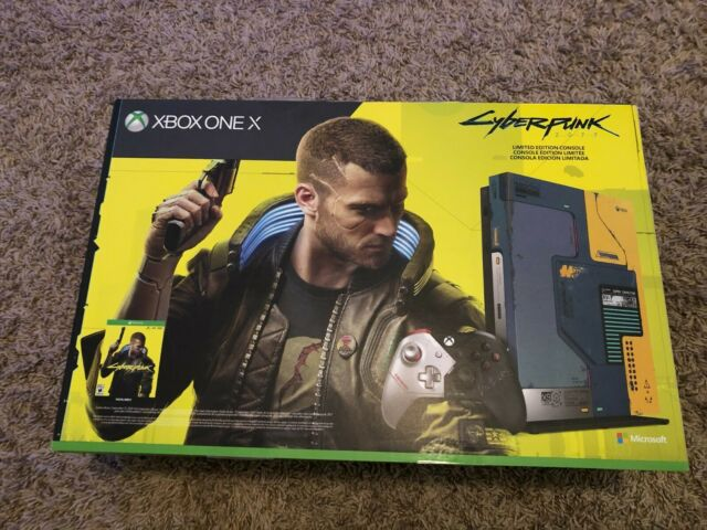 Microsoft Xbox One X Cyberpunk 2077 Limited Edition Console with game SEALED!!