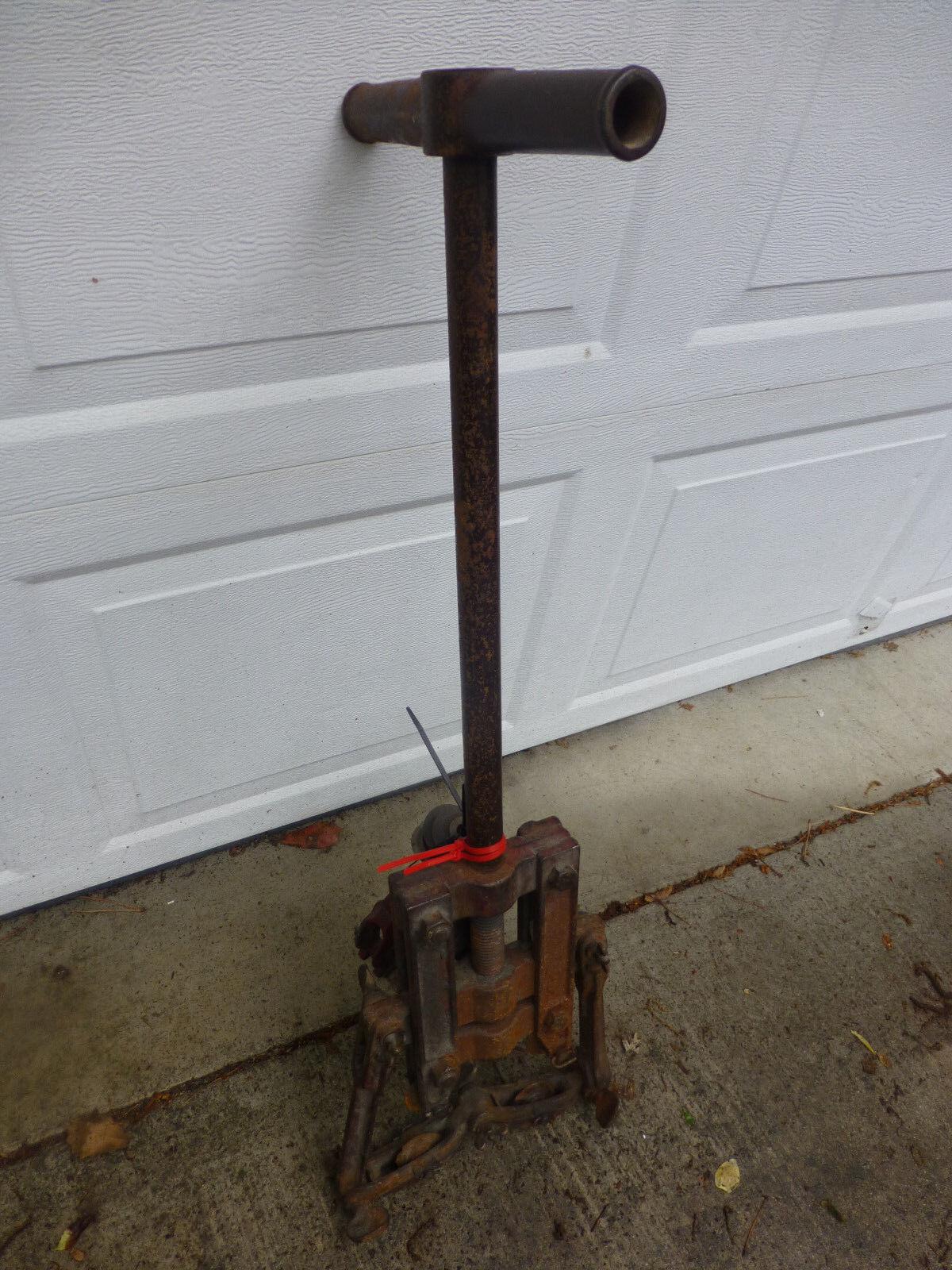 Vintage Ellis & Ford Ellis Pipe Cutter Tool plus extra cutting wheels