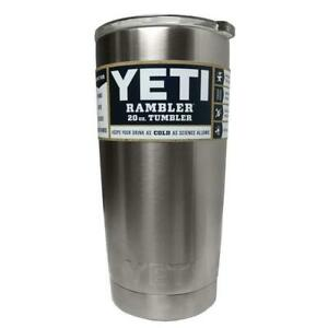 1c2100c462a Yeti Rambler 20 Oz Tumbler Vacuum Insulated Cup W Lid Hot Cold ...