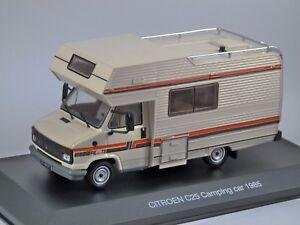 Modèle 1985 de voiture de camping Citroen C25, modèle 1/43, par Ixo *, manche déchirée 4895102321902