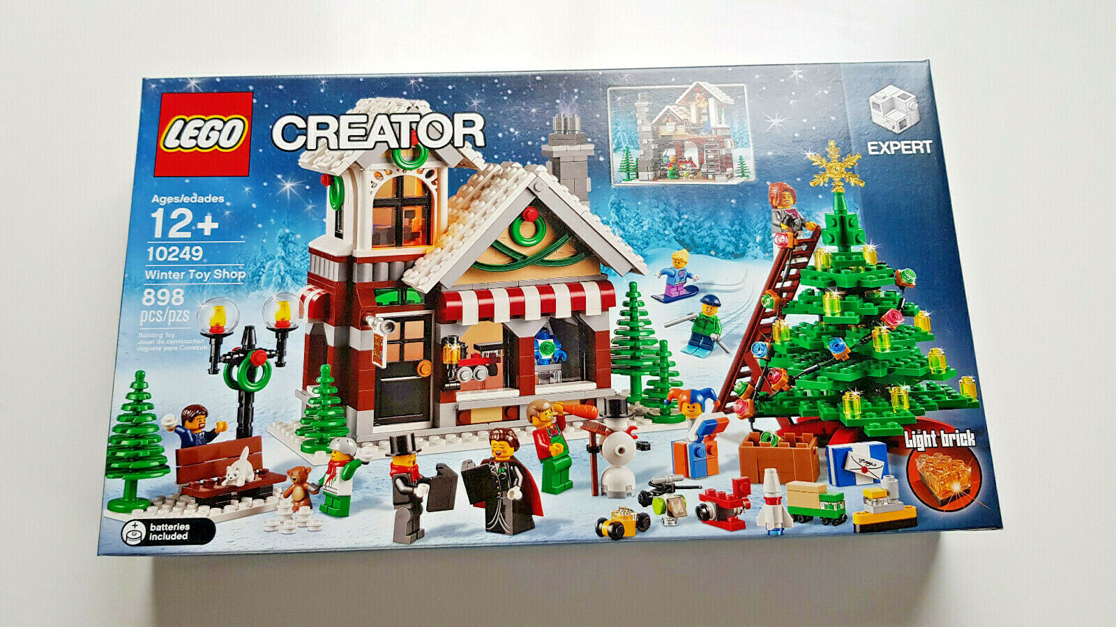 LEGO 10249 CREATOR Winter Toy Shop NEW Never Opened
