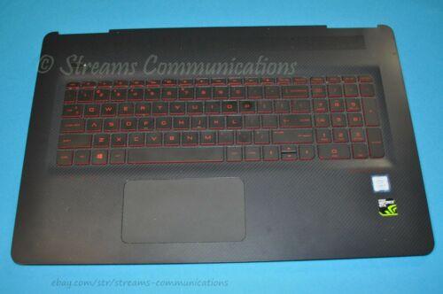 """HP Omen 17-W 17-W053DX 17-w273nr 17.3/"""" Laptop Palmrest w// Tpad Bk-lit Keyboard"""