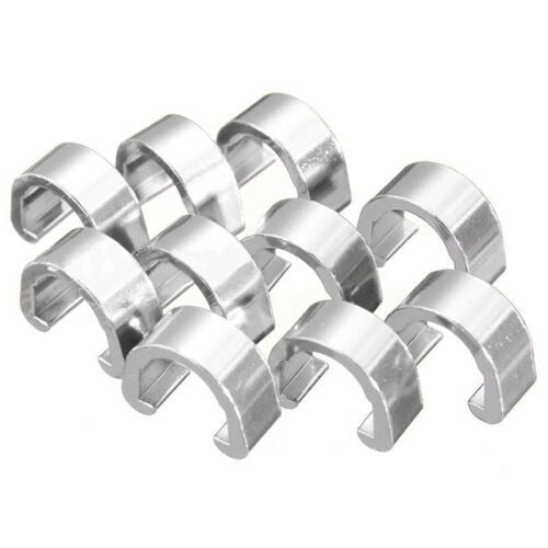 10pcs//pack C Clips Buckle Hose Brake Gear Cable Housing Guide Bicycle MTB
