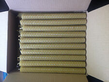 80 PCS BEESWAX  HAND ROLLED CANDLES