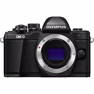 Olympus-OM-D-E-M10-Mark-II-EM10II-Body-16-1mp-3-034-Digital-Camera-New-Agsbeagle