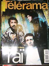 Télérama N° 2541 1998 Raï Khaled Faudel Taha Eric Rohmer Art Jômon Photo madone