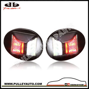 DBMOTOR-2004-2014-Ford-F150-amp-Super-Duty-LED-License-Lamp-Dual-Function