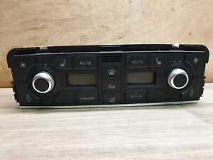 AUDI-A8-S8-D3-2003-2009-AC-el-Control-de-Clima-Asientos-Con-Calefaccion-Interruptor-Panel-4E0820043A