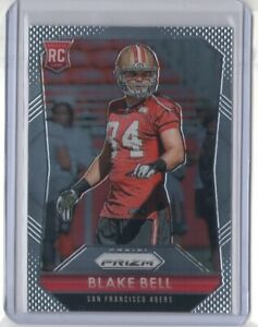 Details about BLAKE BELL 2015 Panini Prizm RC Rookie Card #207 49ERS Cowboys SOONERS