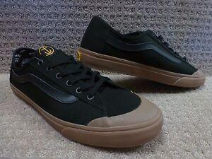 Negro Fin Hombre Sf Vans capitán Zapatos Gum Bola tq8BwX