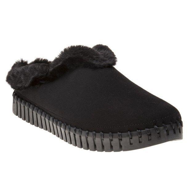 Femmes Neuf Ilse Jacobsen Noir Tulip 3150 synthétique pantoufles Chaussures Plate