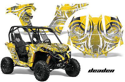 Woodland Camo AMR Racing UTV Graphics kit Sticker Decal Compatible with Yamaha Rhino 450//660//700 2004-2013