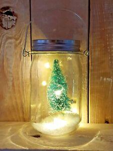 Led Draht Lichterkette Batterie Warmweiss Glas Licht Deko Einmachglas
