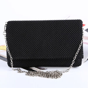 Glitter Evening Clutches Bags,Dinner Bag Evening Bag For Ladies  Dress With Shoulder Chain Included