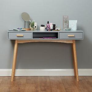 Grey Scandinavian Modern Bedroom Dressing Table Makeup Vanityhome