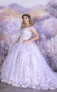 quinceanera dress Lilac/ Sweet Sixteen/ Sweet 15