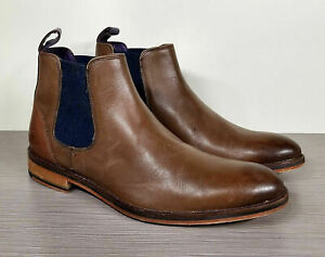 Details about Ted Baker 'Camroon 4' Chelsea Boot, Brown Leather, Mens Size 7 40