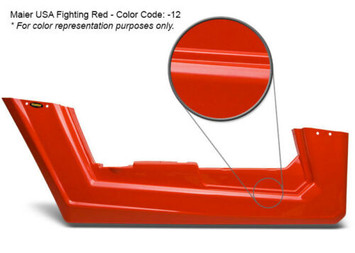 11725-12 Fighting Red Maier USA Honda TRX 250R NEW STYLE One-Piece Race Front