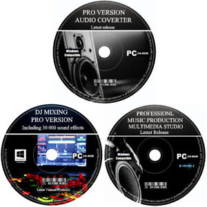 PRO-beatmaker-Music-Production-Studio-DJ-miscelazione-REGISTRATORE-AUDIO-editor-software