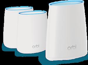 NETGEAR-Orbi-AC2200-Tri-Band-Mesh-Wi-Fi-System-3-pack-RBK43-200NAR