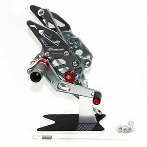 Foot-pedals-Rearset-Rear-Sets-Foot-Pegs-CNC-For-YAMAHA-YZF-R3-R25-2018-grey